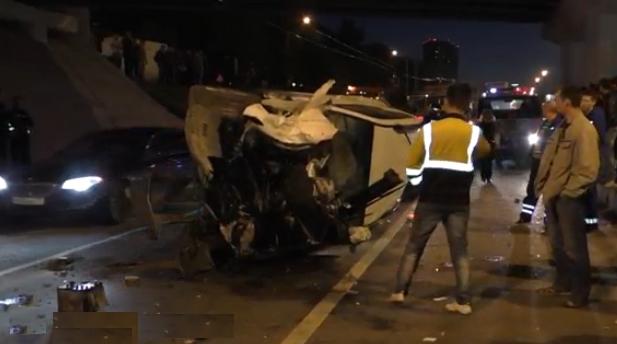 В серьезном ДТП на Дмитровском шоссе погиб один человек фото