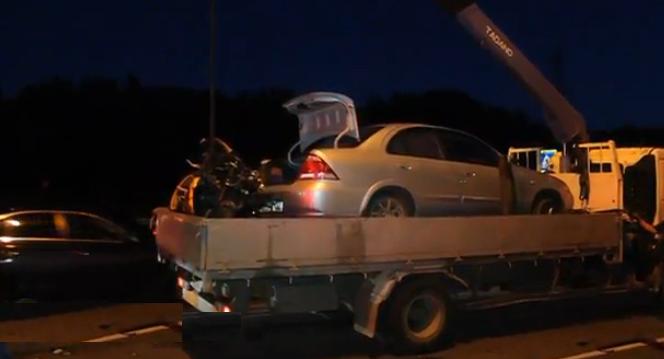 Мотоциклист погиб в ДТП в Москве на улице Борисовские Пруды фото