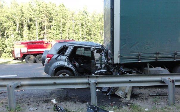 Женщина и ребенок погибли в автоаварии в Московской области фото