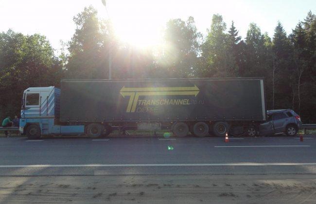 1405448192 1 Женщина и ребенок погибли в автоаварии в Московской области