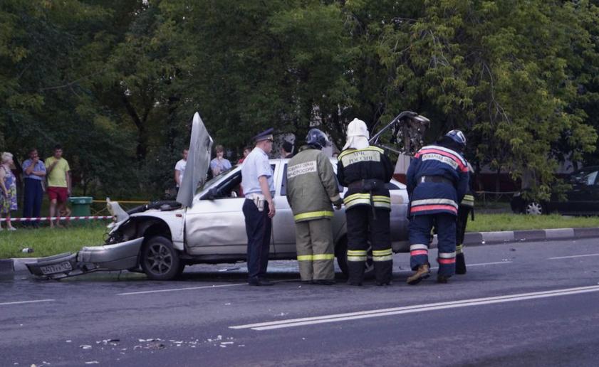 QIP Shot Screen 094 Авария с участием пьяного водителя произошла на Юго Востоке Москвы