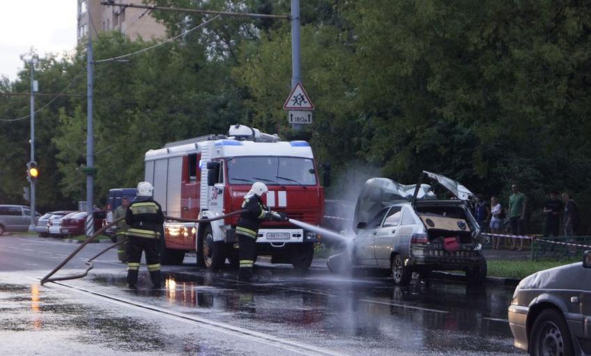 QIP Shot Screen 096 Авария с участием пьяного водителя произошла на Юго Востоке Москвы