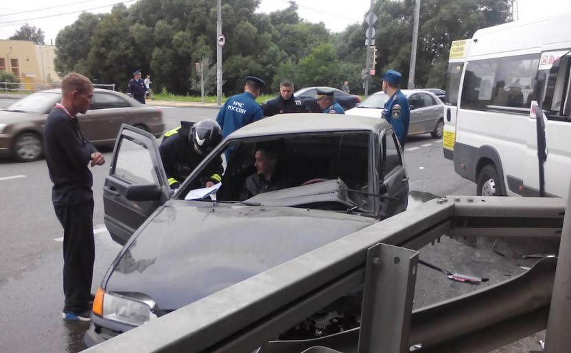 QIP Shot Screen 118 В ДТП с маршруткой на Косинском шоссе пострадали 9 человек