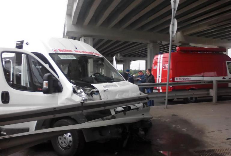 QIP Shot Screen 120 В ДТП с маршруткой на Косинском шоссе пострадали 9 человек