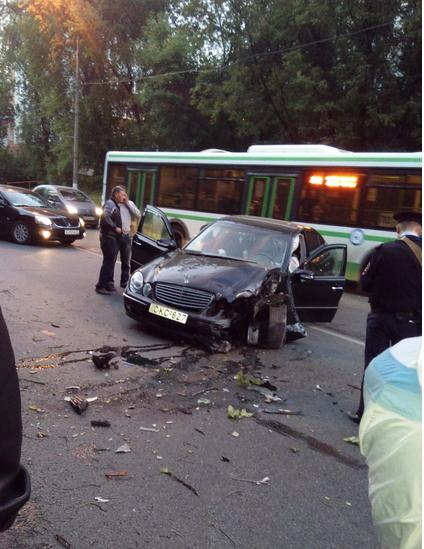 QIP Shot Screen 123 На Шоссейной улице на юго востоке Москвы произошла автоавария