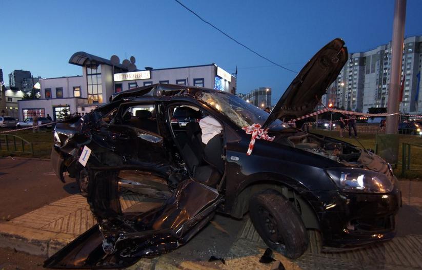QIP Shot Screen 136 Пять человек пострадали в ДТП на Люблинской улице в  Москве