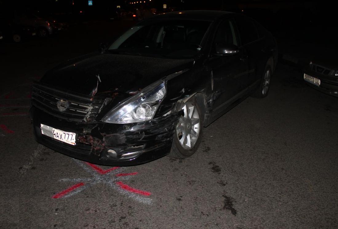 QIP Shot Screen 353 Пьяный водитель разбил четыре автомобиля на Липецкой улице
