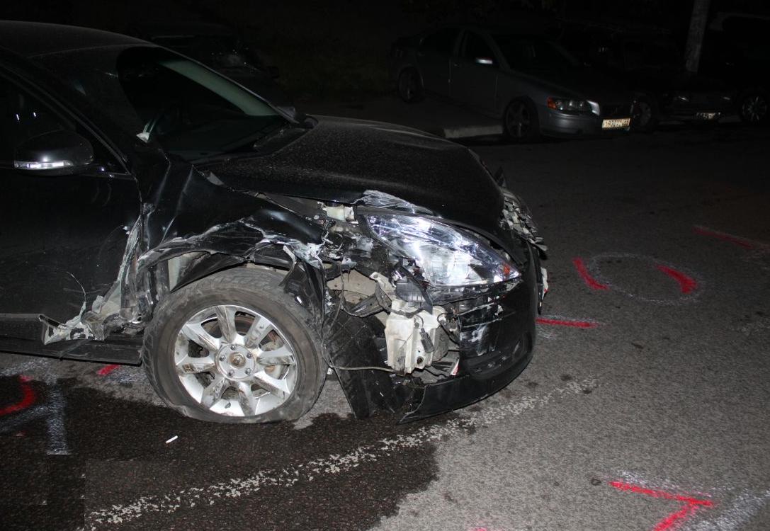 QIP Shot Screen 354 Пьяный водитель разбил четыре автомобиля на Липецкой улице