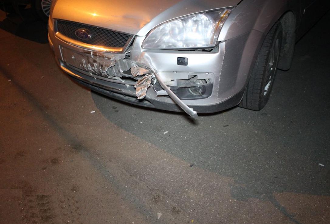 QIP Shot Screen 357 Пьяный водитель разбил четыре автомобиля на Липецкой улице