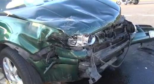В ДТП на Пятницком шоссе пострадала беременная пассажирка фото