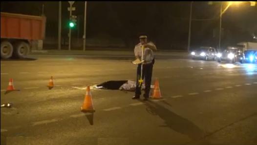QIP Shot Screen 392 На западе Москвы насмерть сбит пешеход. Автомобиль с места ДТП скрылся