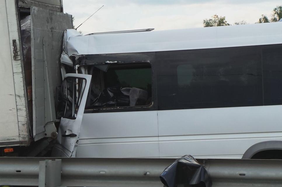 QIP Shot Screen 408 2 человек погибли и 5 пострадали в ДТП с участием маршрутки под Москвой