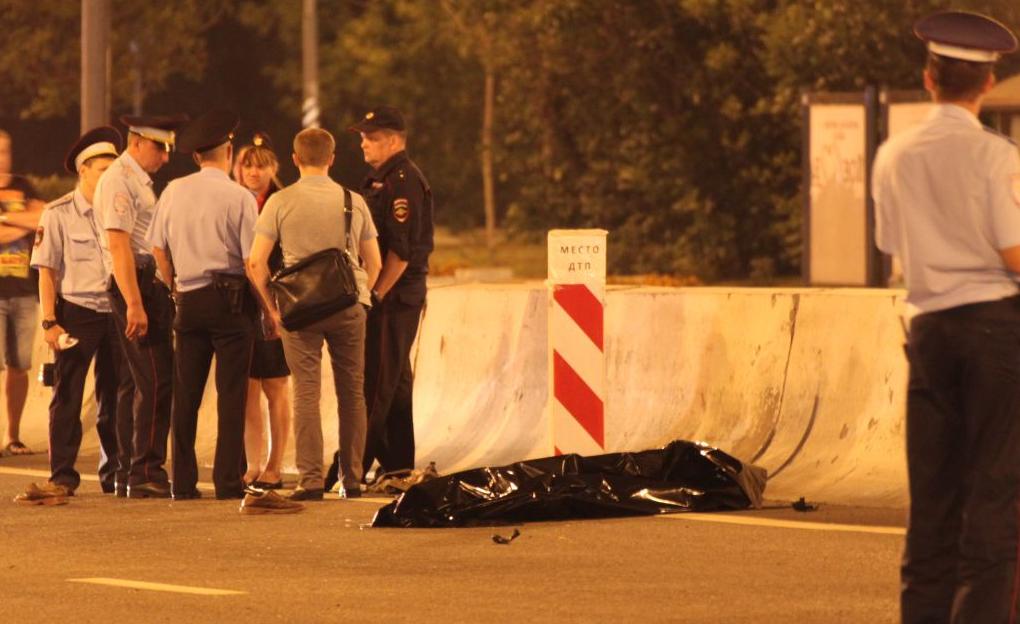 QIP Shot Screen 411 Пешеход погиб перебегая Варшавское шоссе в неположенном месте