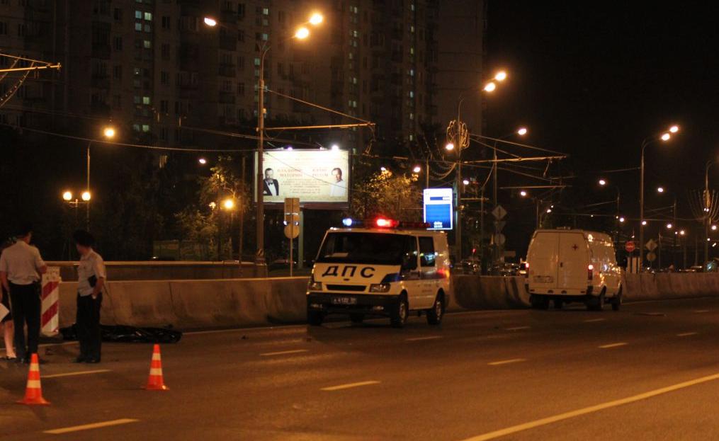 QIP Shot Screen 413 Пешеход погиб перебегая Варшавское шоссе в неположенном месте