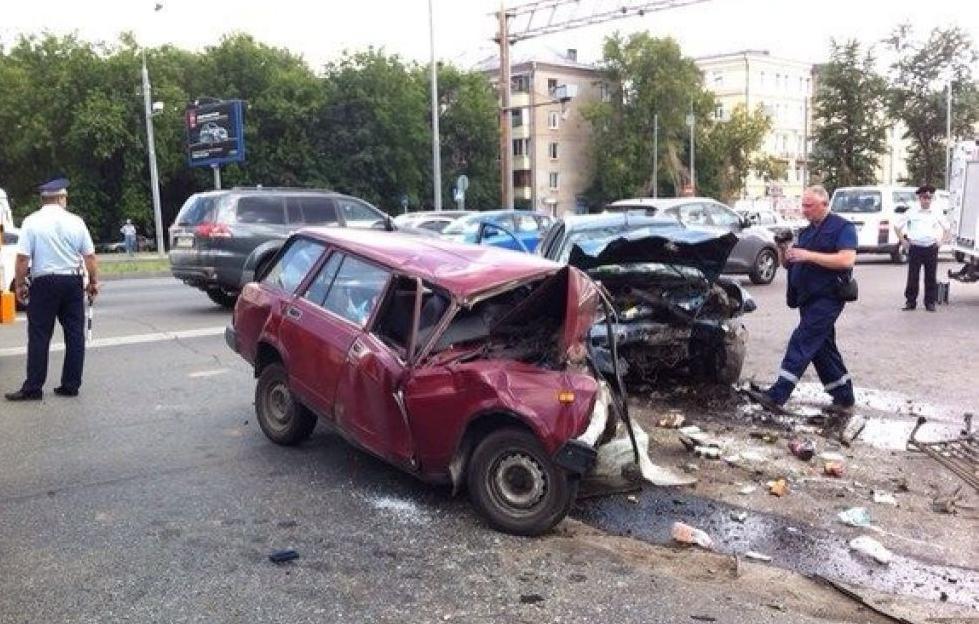 QIP Shot Screen 418 Два человека погибли в лобовом ДТП на Ярославском шоссе