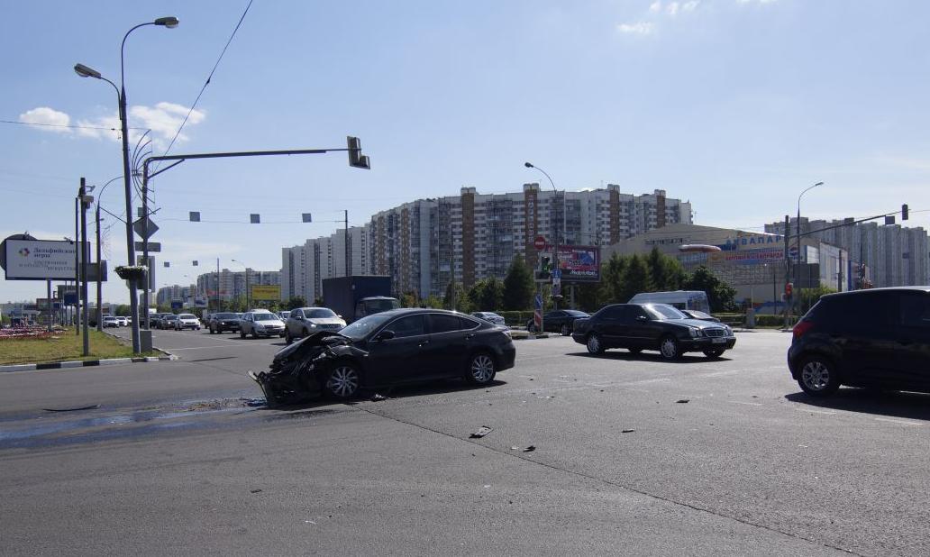 QIP Shot Screen 467 Двое детей пострадали в ДТП на Люблинской улице