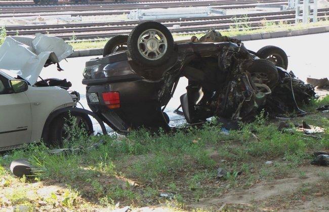 1407678637 11 В Москве в автоаварии погибли 3 человека