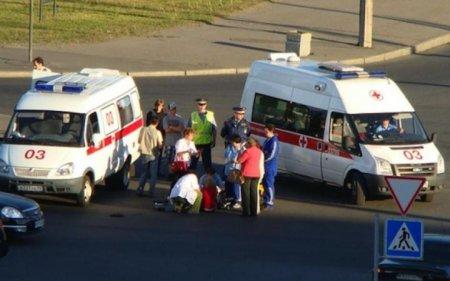 В Москве девушка на иномарке сбила беременную женщину и скрылась