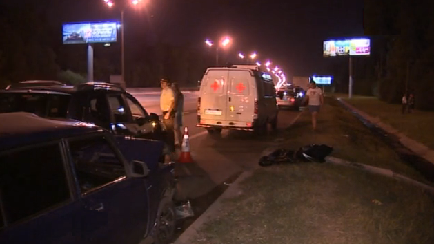 QIP Shot Screen 031 В Москве водитель иномарки погиб под колесами своей только что купленной машины