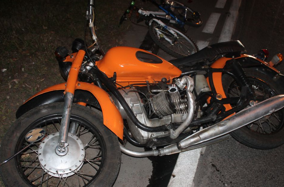 QIP Shot Screen 059 В аварии на Каспийской улице в Москве травмировался мотоциклист
