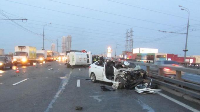 QIP Shot Screen 211 Пассажир автомобиля скончался в аварии на Ярославском шоссе