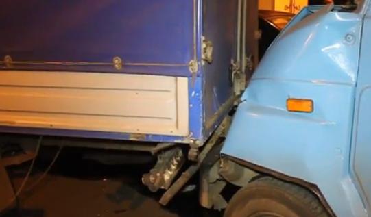 QIP Shot Screen 600 На дублёре Варшавского шоссе в Москве произошла авария с участием 9 машин