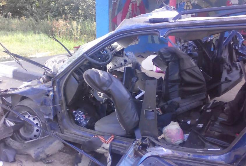 На Горьковском шоссе произошло жуткое ДТП фото