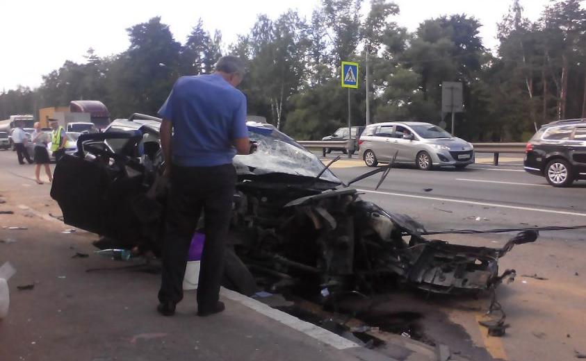 QIP Shot Screen 638 На Горьковском шоссе произошло жуткое ДТП