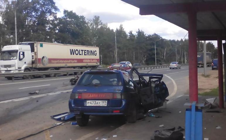 QIP Shot Screen 639 На Горьковском шоссе произошло жуткое ДТП