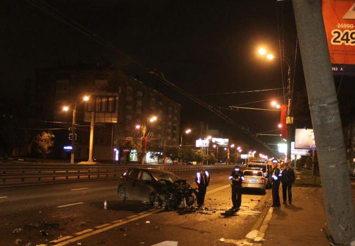 QIP Shot Screen 133 На юге столици произошло ДТП, в котором тяжело пострадал водитель