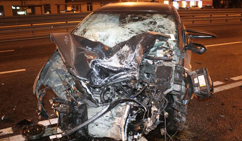 QIP Shot Screen 135 На юге столици произошло ДТП, в котором тяжело пострадал водитель
