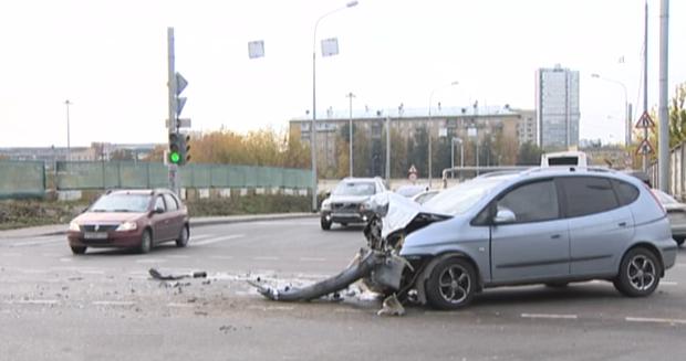 QIP Shot Screen 3751 На востоке столицы «ВАЗ» в течение нескольких минут протаранил две машины