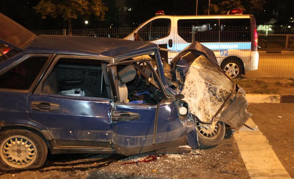 QIP Shot Screen 676 На улице Подольских Курсантов в Москве произошла автомобильная авария