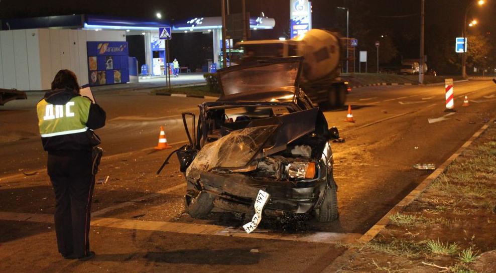 QIP Shot Screen 679 На улице Подольских Курсантов в Москве произошла автомобильная авария