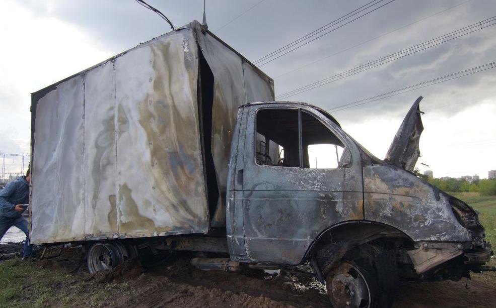 QIP Shot Screen 682 В Москве автомобиль «Mercedes» столкнулся с «ГАЗелью»