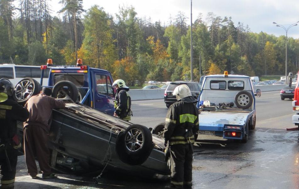 QIP Shot Screen 951 В Москве произошло серьезное ДТП с участием 5 автомобилей