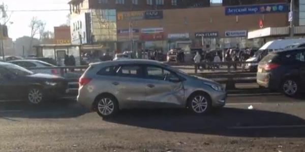 dtp2 Авария в Москве на Дмитровском шоссе