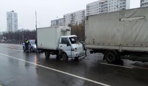 porter ДТП в Москве на Каширском шоссе