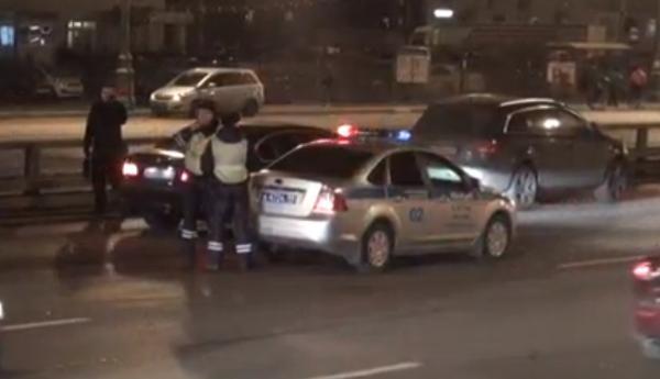 1 3 ДТП в Москве сегодня 31.10.2014 на улице Мневники, повреждены 4 автомобиля