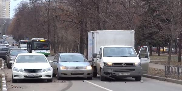 ДТП в Москве на Крупской фото