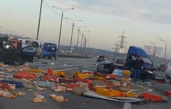 Авария на Симферопольском шоссе фото