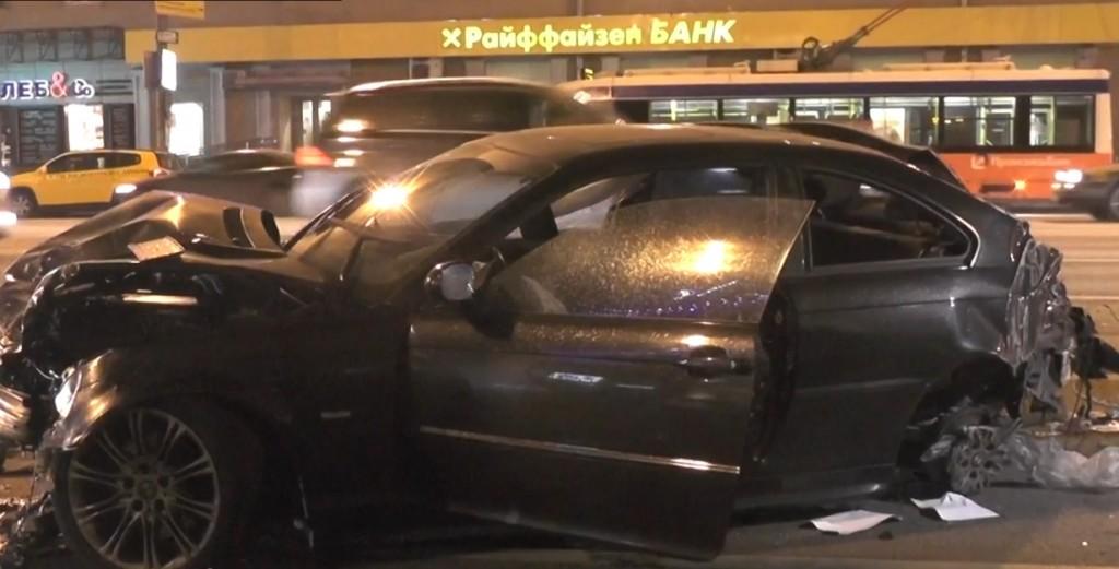 dtp v moskve21 1024x521 ДТП в Москве на Садовом   повреждено пять автомобилей