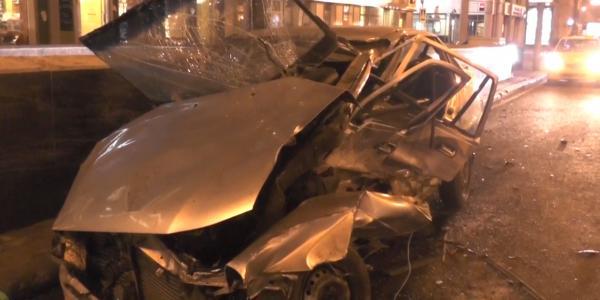 dtp v moskve41 ДТП в Москве на Садовом   повреждено пять автомобилей