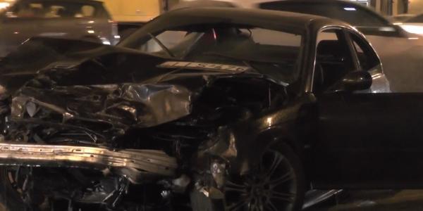 dtp v moskve5 ДТП в Москве на Садовом   повреждено пять автомобилей