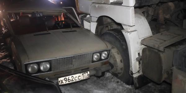 Авария в Новомосковском административном округе фото