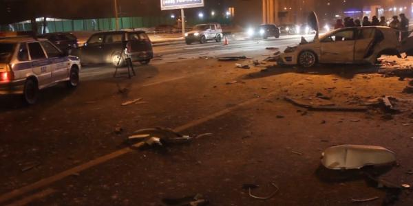 obruch2 ДТП в Москве сегодня на Обручева, разбито три машины