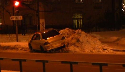ДТП в Москве сегодня на улице Лескова фото
