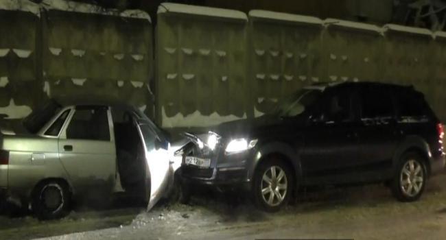 ДТП в Новой Москве, столкновение нескольких автомобилей фото